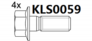 Brake pad set KY80753 Brand OE Reference 06022-SP8-000
