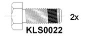 Brake pad set KY80835 AUDI 8D0698151E