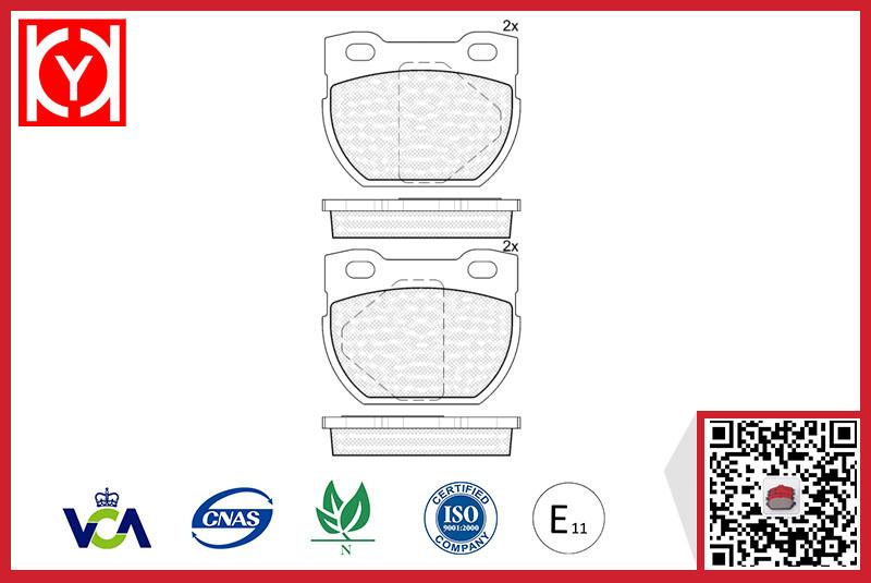 Brake pad set KY41090H LAND ROVERSFP000130
