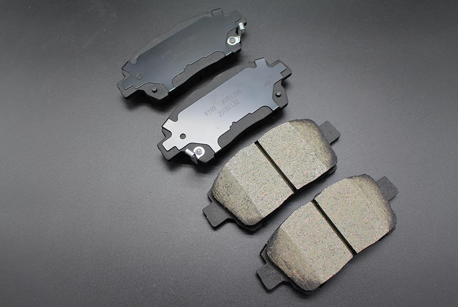 NAO ceramic formula brake pads