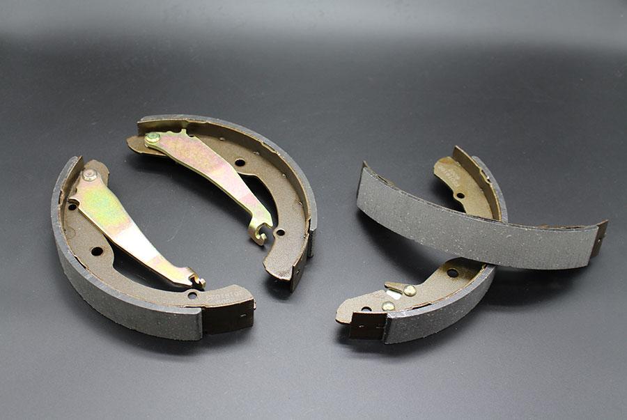 Asbestos-free brake shoe