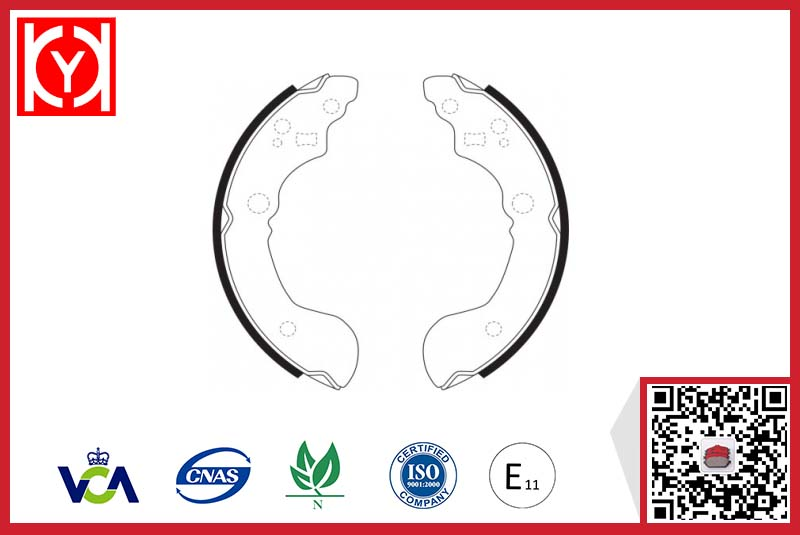 Brake Shoes KS2401